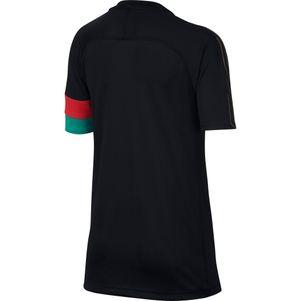 Nike Kinder Dry CR7 Academy Christiano Ronaldo Trainingsshirt schwarz / gold – Bild 2