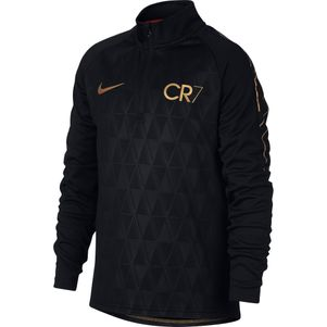 Nike Kinder Dry CR7 Academy Christiano Ronaldo Trainingstop schwarz / gold – Bild 1