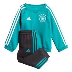 adidas DFB Away 3 Streifen Baby Jogger Deutschland grün WM 2018