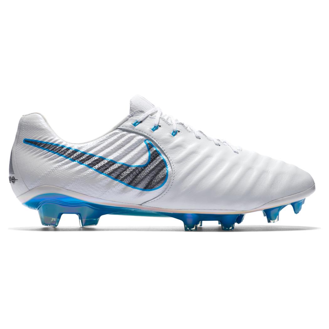 low priced 1f777 7357b Nike Tiempo Legend 7 Elite FG weiß   blau