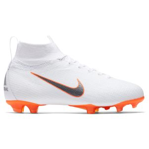 Nike Kinder Mercurial Superfly 6 Elite FG weiß / orange – Bild 1