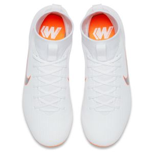 Nike Kinder Mercurial Superfly 6 Academy MG weiß / orange – Bild 4