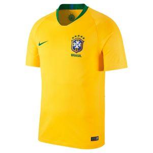 Nike Brasilien Home Heimtrikot gelb / grün WM 2018 – Bild 1