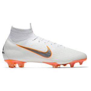 Nike Mecurial Superfly 6 Elite FG weiß / orange  – Bild 1