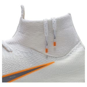 Nike Mecurial Superfly 6 Elite FG weiß / orange  – Bild 9
