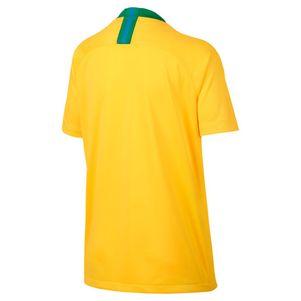 Nike Kinder Brasilien Home Heimtrikot gelb / grün WM 2018 – Bild 2