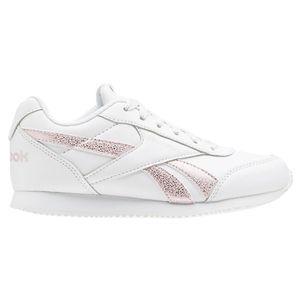 Reebok Royal Classic Jogger Sneaker Kinder weiß Pink – Bild 1