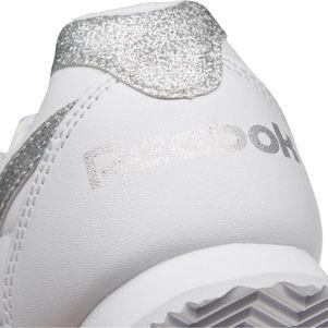 Reebok Royal Classic Jogger Sneaker Kinder Leder weiß /silber – Bild 7