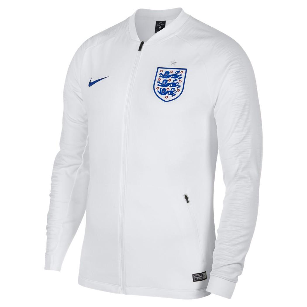 Nike England Anthem Jacket Fußball Jacke weiß WM 2018