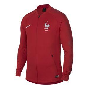 Nike Frankreich Anthem Jacket Fußball Jacke rot WM 2018