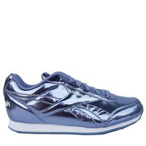 Reebok Royal Classic Jogger Sneaker Kinder lila / weiß – Bild 1