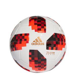 adidas Telstar 18 Meyta Mini Ball Mechta Fußball WM 2018 weiß / rot / schwarz – Bild 1