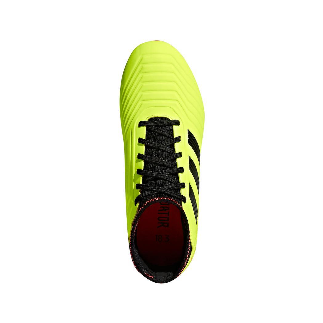 bd2c9d05d515eb adidas Kinder Predator 18.3 FG Gelb   Schwarz   Rot Schuhe adidas ...
