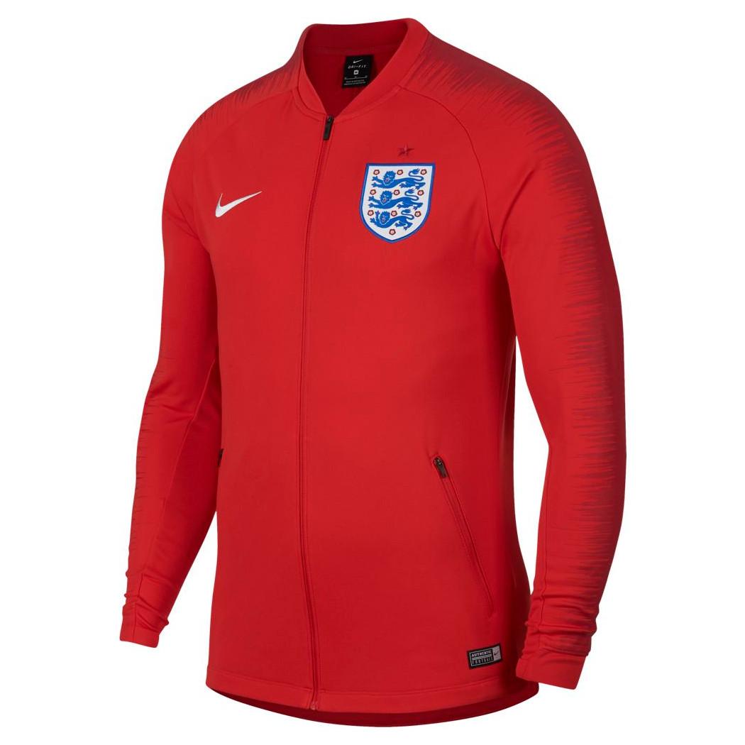 Nike England Anthem Jacket Fußball Jacke rot WM 2018