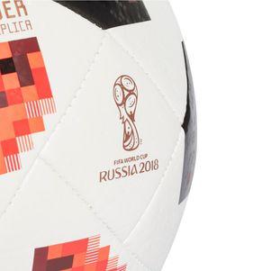 adidas Telstar 18 Meyta Top Glider Mechta Fußball WM 2018 weiß / rot / schwarz – Bild 3