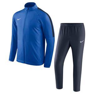 Nike Kinder Academy 18 Woven Präsentationsanzug Trainingsanzug blau – Bild 1