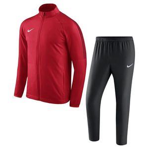 Nike Kinder Academy 18 Woven Präsentationsanzug Trainingsanzug rot – Bild 1