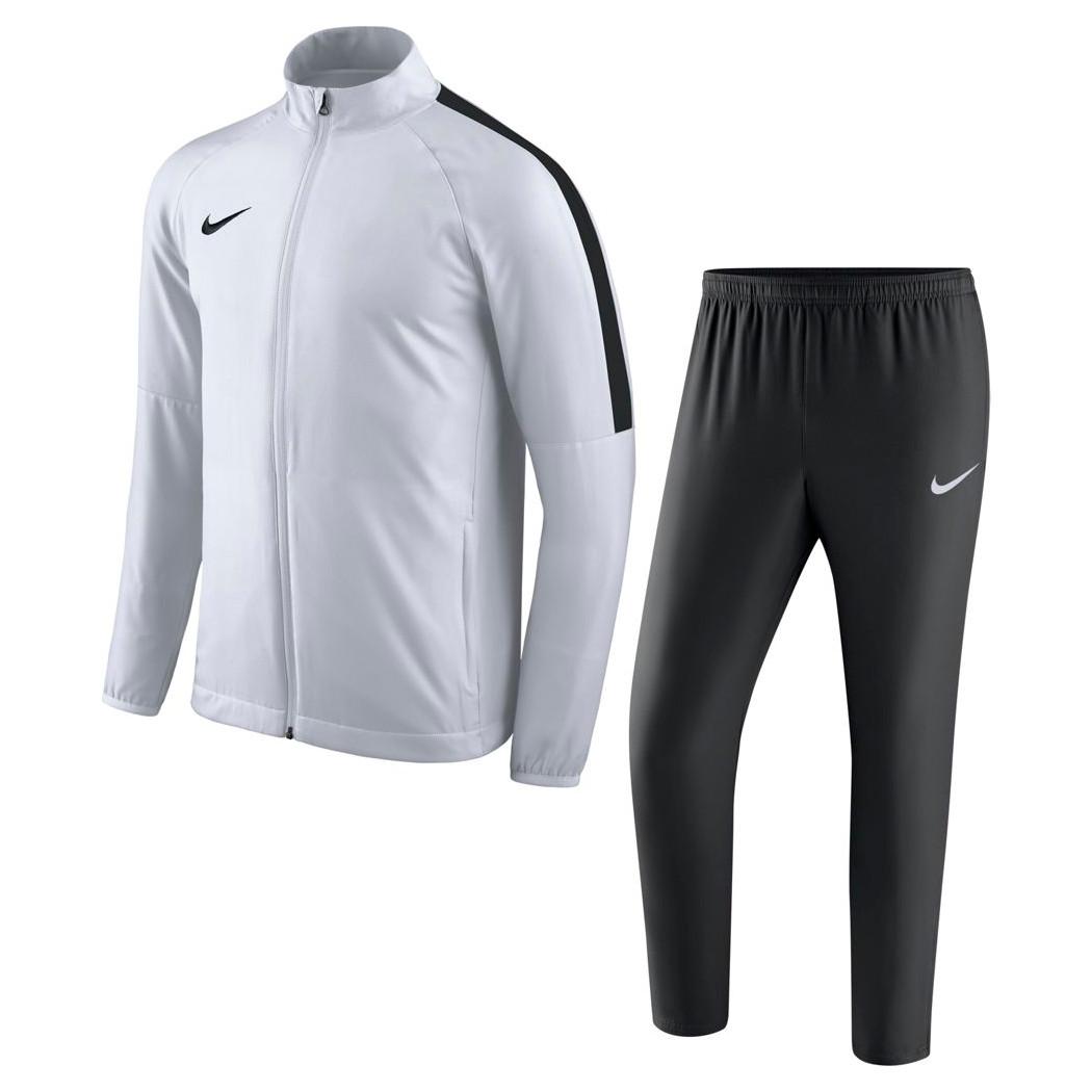 united states best price professional sale Nike Academy 18 Woven Präsentationsanzug Herren Trainingsanzug weiß