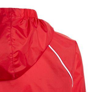 adidas Kinder Core 18 Regenjacke rot – Bild 3