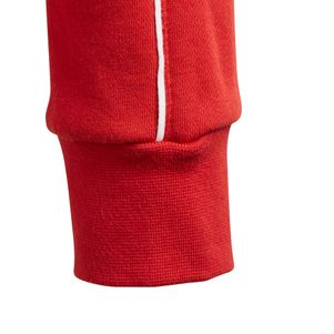 adidas Kinder Core 18 Kapuzenpullover rot – Bild 4