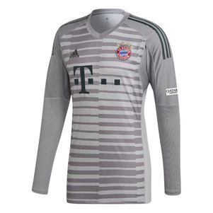 adidas Bayern München Torwarttrikot 2018/2019 grau – Bild 1
