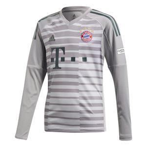 adidas Kinder Bayern München Torwarttrikot 2018/2019 grau – Bild 1