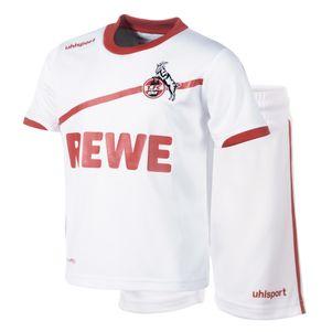 uhlsport 1. FC Köln Home Babykit 2018/2019 weiß
