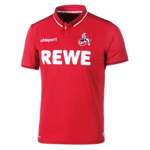 uhlsport 1.FC Köln Home Auswärtstrikot 2018/2019 rot – Bild 1