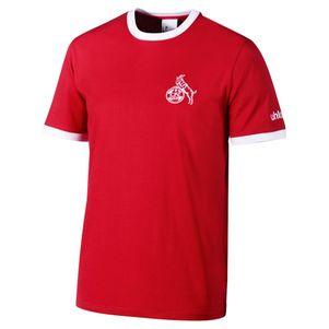 uhlsport 1. FC Köln T-Shirt Retro 1948 rot / weiß