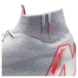 Nike Mercurial Superfly 6 Elite FG grau / rot / silber – Bild 9
