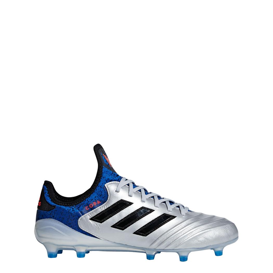 adidas Copa 18.1 FG silber / blau