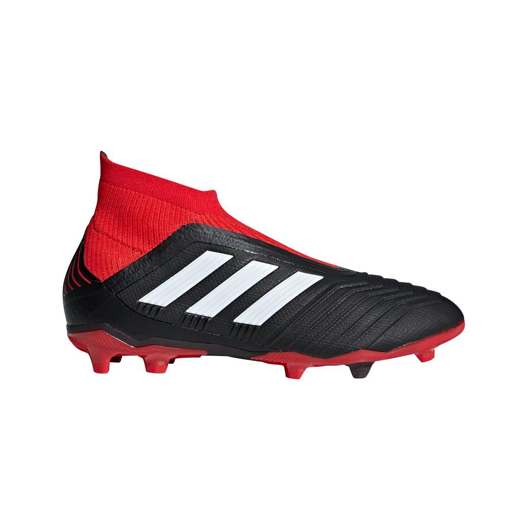 adidas Kinder Predator 18+ FG Junior schwarz rot