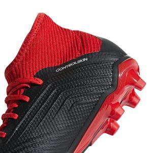 adidas Kinder Predator 18.3 AG Junior schwarz / rot – Bild 6
