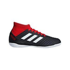 adidas Kinder Predator Tango 18.3 IN Junior schwarz / rot  – Bild 1