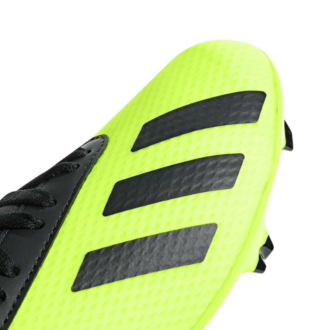 adidas Kinder X 18.3 FG Junior gelb schwarz Schuhe adidas