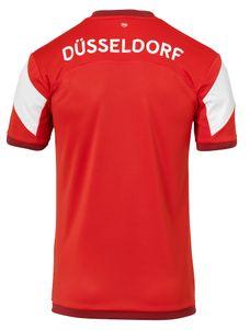 uhlsport Fortuna Düsseldorf F95 Heimtrikot KA 18/19  rot / weiß – Bild 2