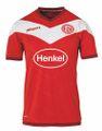 uhlsport Fortuna Düsseldorf F95 Heimtrikot KA 18/19  rot / weiß 001