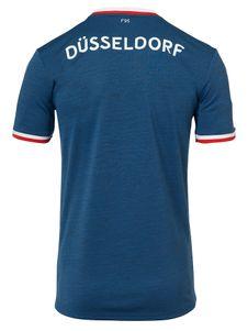 uhlsport Fortuna Düsseldorf F95 Ausweichtrikot KA 18 / 19 Blau – Bild 2