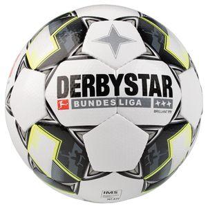 Derbystar Brillant TT Fußball Bundesliga 2018/2019 weiß Größe 5