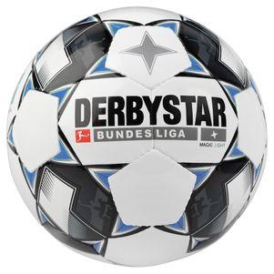 Derbystar Magic Light 350 Gramm Größe 4 Fußball Bundesliga 2018/2019 weiß