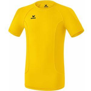erima Elemental T-Shirt Funktionsshirt Kinder Herren gelb – Bild 1