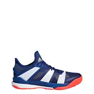 adidas Stabil X Handballschuhe Herren blau / weiß – Bild 1