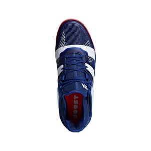 adidas Stabil X Handballschuhe Herren blau / weiß – Bild 3