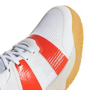 adidas Stabil X Handballschuhe Herren weiß / rot – Bild 5