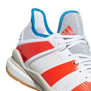 adidas Stabil X Handballschuhe Herren weiß / rot – Bild 6