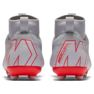Nike Kinder Mercurial Superfly 6 Academy MG grau / rot / silber – Bild 5