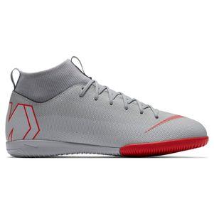 Nike Kinder Mercurial Superfly 6 Academy IC grau / rot / silber – Bild 1