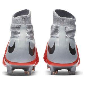 Nike Hypervenom 3 Elite DF FG rot / siber / grau – Bild 6
