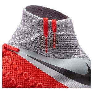 Nike Hypervenom 3 Elite DF FG rot / siber / grau – Bild 9