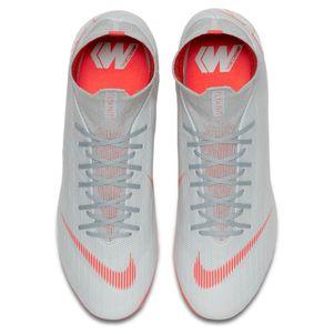 Nike Mercurial Superfly 6 Pro AG grau / rot / silber – Bild 5